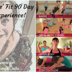 Fe' Fit 90 Day Fitness Experience is an efficient, fun workout system that is perfect for busy moms, see full review on www.feelingfit.info