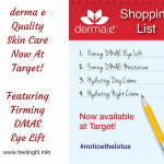 Notice The Lotus – derma e is Now At Target!