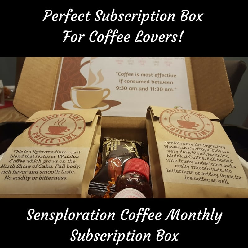 Perfect Subscription Box For Coffee Lovers!