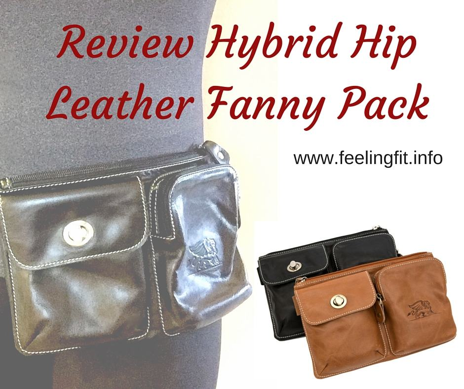 Review Hybrid Hip Leather Fanny Pack