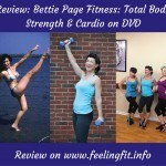 Bettie Page Fitness Total Body Strength + Cardio Workout Review