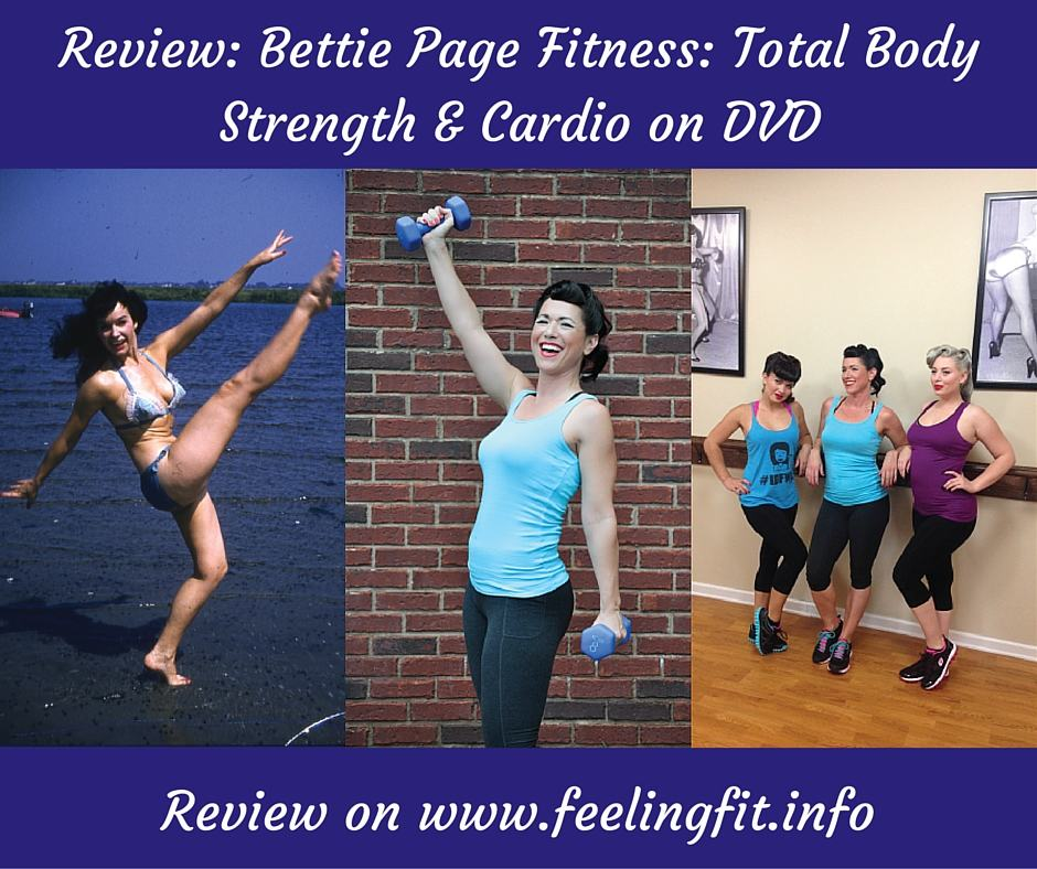 Review_ Bettie Page Fitness_ Total Body Strength & Cardio DVD
