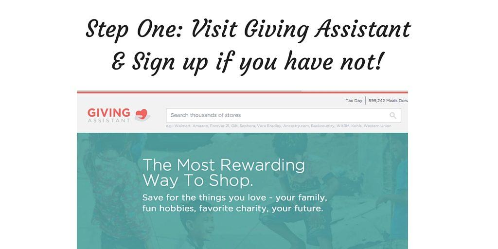 Giving-Assistant-Step-1