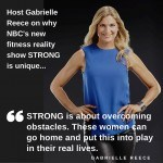 """<span class=""""entry-title-primary"""">NBC's Strong With Gabrielle Reece Is Empowering Reality Television</span> <span class=""""entry-subtitle"""">Entertainment For The Feeling Fit Lifestyle</span>"""