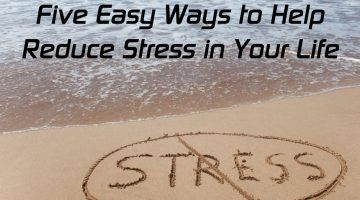 Try These 5 Easy Ways to Stop Stress Now